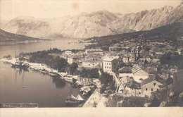 CATTARO Südseite (Österr/Ung. K.k. Hafen Der U-Bootflotte Bis 1918, Heute Kotor, Montenegro) Orig.alte Fotokarte ~ 1920 - Montenegro