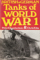 BRITISH GERMAN TANK WWI WORLD WAR 1 CHAR COMBAT BLINDE PANZER GRANDE GUERRE