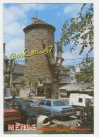 {36898} 48 Lozère Mende , La Tour Des Pénitents ; Animée , Voitures - Mende