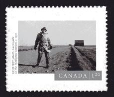 CANADA, 2015, # 2821, CANADIAN PHOTOGRAPHY : Alex Colville On The Tantramar Marshes USA Rate STAMP - Carnets