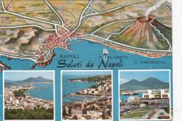 1960 CIRCA SALUTI DA NAPOLI - Napoli (Naples)