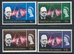 "Tristan Da Cunha      ""Chruchill""     Set    SC# 89-92  MNH** - Tristan Da Cunha"