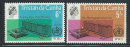 """Tristan Da Cunha      """"WHO Headquarters""""     Set    SC# 99-00  MNH** - Tristan Da Cunha"""