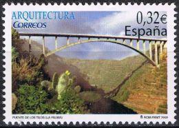 España 2009 Edifil 4505 Sello ** Arquitectura Puente De Los Tilos La Palma 0,32€ Spain Stamps Timbre Espagne Briefmarke - 1931-Hoy: 2ª República - ... Juan Carlos I
