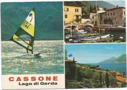 K3339 Malcesine (Verona) - Cassone - Lago Di Garda - Panorama - Vedute - Multipla / Viaggiata 1989 - Italia