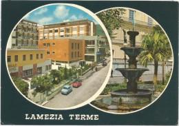 K3349 Lamezia Terme (Catanzaro) Già Nicastro Sambiase E Sant'Eufemia - Auto Cars Voitures / Viaggiata 1970 - Lamezia Terme
