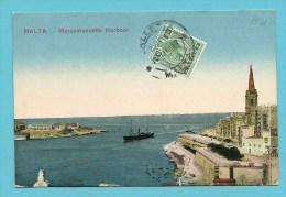 """Kaart MALTA 23/12/17 Met Zegel Naar """"France"""" Met Stempel OPENED BY CENSOR - Malte (Ordre De)"""