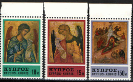 CIPRO - 1976 - NATALE - CHRISTMAS - ICONE - NUOVI MNH - Neufs