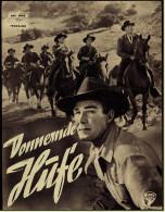 """Das Neue Film-Programm Von Ca. 1953  -  """"Donnernde Hufe""""  -  Mit Randolph Scott , Lex Barker - Magazines"""