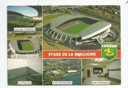 Cp , Sport , Football , F.C. NANTES , Stade De La BEAUJOIRE , Voyagée 1986 , Ed : Artaud 123 - Calcio