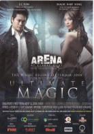"15J : Singapore Magic Show Poster Postcard "" Ultimate Magic"" - Afiches En Tarjetas"