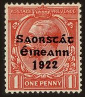 Ireland Scott #60a, 1923, Hinged - 1922-37 Stato Libero D'Irlanda