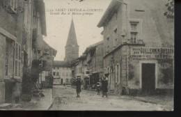 Saint Trivier De Courtes Grande Rue Et Maison Gothique - Unclassified