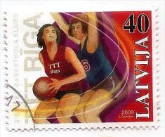 Latvia 2009 Women European Basketball Championship Used - 0.40 - ( O ) - Latvia