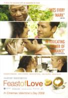 "15H : Hollywood Movie Cinema Poster Postcard ""feast Of Love"" - Afiches En Tarjetas"