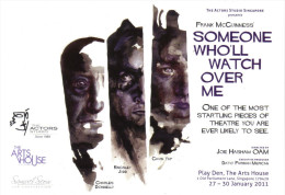 """15H : Play Poster Postcard """"Someone Who'll Watch Over Me"""" By Frank McGuiness - Afiches En Tarjetas"""