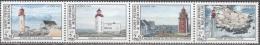 Saint-Pierre Et Miquelon 1992 Yvert 563 - 566 Neuf ** Cote (2015) 6.00 Euro Phares - St.Pierre & Miquelon