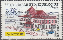 Saint-Pierre Et Miquelon 1997 Yvert 655 Neuf ** Cote (2015) 1.70 Euro Bâtiment La Poste - Neufs