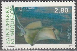 Saint-Pierre Et Miquelon 1993 Yvert 582 Neuf ** Cote (2015) 1.60 Euro Raie - Neufs
