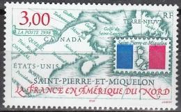 Saint-Pierre Et Miquelon 1998 Yvert 680 Neuf ** Cote (2015) 1.80 Euro La France En Amérique Du Nord - Neufs