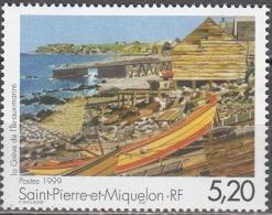 Saint-Pierre Et Miquelon 1999 Yvert 687 Neuf ** Cote (2015) 2.70 Euro La Grève De L'île Aux Marins - Neufs