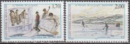 Saint-Pierre Et Miquelon 1998 Yvert 672 - 673 Neuf ** Cote (2015) 2.40 Euro Le Travail De La Glace - Neufs