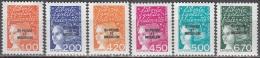 Saint-Pierre Et Miquelon 1998 Yvert 663 - 668 Neuf ** Cote (2015) 9.00 Euro Marianne De Luquet - Neufs