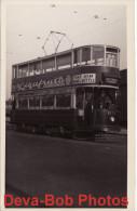 Tram Photo LCC Car 1172 Experiment With Pantograph London Tramcar - Trains