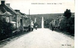 N°5965A -cpa Jurques -route De Caen à Vire- - Andere Gemeenten