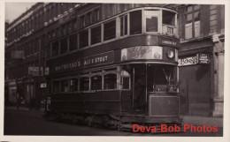 Tram Photo London Transport Car 2218 Route 59 Holborn Edmonton Town Hall Tramway - Trains