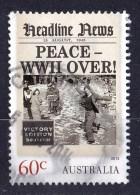 Australia 2013 Headline News 60c Peace - WWII Over Used  - - - 2010-... Elizabeth II