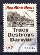 Australia 2013 Headline News 60c Tracy Destroys Darwin Used  - - - 2010-... Elizabeth II