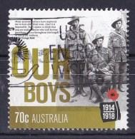 Australia 2014 World War I Centenary 70c Our Boys Used - 2010-... Elizabeth II
