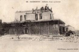 54Asc     Tchad Djibouti Reconstruction Aprés Le Passage D'un Cyclone - Ciad