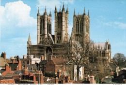 Postcard - Lincoln Cathedral, Lincolnshire. C5970X - Lincoln