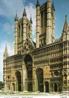 Postcard - Lincoln Cathedral, Lincolnshire. C4675X - Lincoln