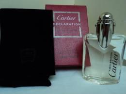 """CARTIER """" DECLARATION"""" MINI  VAPO EDT 12,5 MLSOUS  BLISTER  NOUVELLE PRESENTATION  VOIR & LIRE !!! - Miniatures Modernes (à Partir De 1961)"""