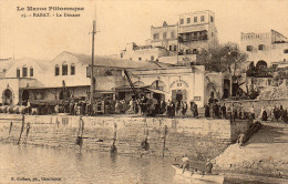 Cpa 1916, RABAT, Pointe De Oudaya, Vue De La Douane, Imposants Remparts   (38.54) - Rabat