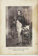 NAPOELON BONAPARTE   DE 1895 GRAND FORMA 16,5 X 12 CM - Personnages Historiques