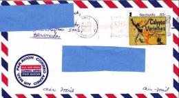 Z] Cover Enveloppe Bermudes Bermuda Calypso Variety Musique Music Danse Dance - Bermudes