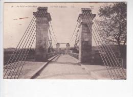 SAINTE FOY LA GRANDE (33-Gironde), Le Pont Suspendu, Ed. Bloc Frères Vers 1910 - France
