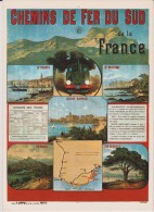 Var :  Chemin De Fer  Su  Sud  - Train - France