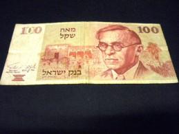 ISRAEL 100 Sheqalim 1979,pick N° 47 ,BANK OF ISRAEL - Israel
