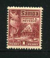 SAMOA  ( POSTE )  :  Y&T N° 99  TIMBRE  NEUF  AVEC  TRACE  DE  CHARNIERE ,   A VOIR. - Samoa
