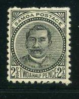 SAMOA  ( POSTE )  :  Y&T N° 18  TIMBRE  NEUF  AVEC  TRACE  DE  CHARNIERE ,   A VOIR. - Samoa