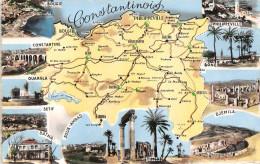 ¤¤  -  CONSTANTINE   -   Carte De La Région  - Bougie, Ouargla, Setif, Batna, Bone Etc .... -  ¤¤ - Constantine