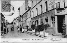 Viels Maisons Aisne Hôtel Naomé Blot Café Billard Chambreshôtes 1907 ÉTAT SUPERBE - Frankrijk