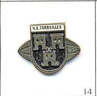 Pin´s Sport - Rugby XV / Club US Torreilles (66). Non Est. Métal Peint T346-14 - Rugby