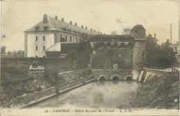 AK / CPA Cambrai Entree Des Eaux De L'Escaut 1914 #02 - Cambrai