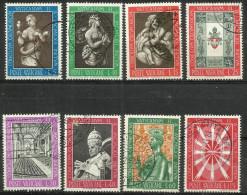 Vatican - 1962 Ecumenical Council Set Of 8 Used  SG 389-96  Sc 345-52 - Oblitérés